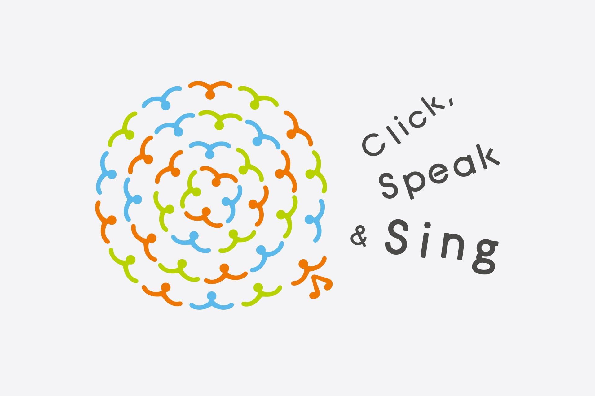 Click, Speak & Sing